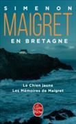 Cover-Bild zu Simenon, Georges: Maigret en Bretagne