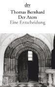 Cover-Bild zu Bernhard, Thomas: Der Atem