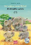 Cover-Bild zu Volk, Katharina E.: Der schlaue kleine Elefant - El elefantito astuto