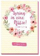 Cover-Bild zu Spring in eine Pfütze von Viktoriasarina