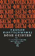 Cover-Bild zu Böse Geister von Dostojewskij, Fjodor M.