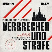 Cover-Bild zu Verbrechen und Strafe Teil 1-2 (Audio Download) von Dostojewskij, Fjodor M.