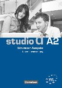Cover-Bild zu Bettermann, Christel: Studio d, Deutsch als Fremdsprache, Schweiz, A2, Unterrichtsvorbereitung (Print), Vorschläge für Unterrichtsabläufe, Tests und Kopiervorlagen