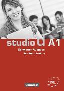 Cover-Bild zu Bettermann, Christel: Studio d, Deutsch als Fremdsprache, Schweiz, A1, Unterrichtsvorbereitung (Print), Vorschläge für Unterrichtsabläufe, Tests und Kopiervorlagen