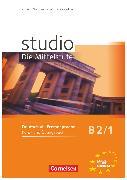 Cover-Bild zu Kuhn, Christina: Studio: Die Mittelstufe, Deutsch als Fremdsprache, B2: Band 1, Kurs- und Übungsbuch, Mit Lerner-Audio-CD mit Hörtexten des Übungsteils