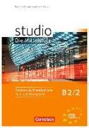 Cover-Bild zu Kuhn, Christina: Studio: Die Mittelstufe, Deutsch als Fremdsprache, B2: Band 2, Kurs- und Übungsbuch, Mit Lerner-Audio-CDs mit Hörtexten des Übungsteils