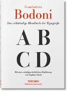 Cover-Bild zu Füssel, Stephan: Giambattista Bodoni. Handbuch der Typografie