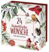 Cover-Bild zu 24 himmlische Wünsche für den Advent von Groh Verlag