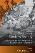 Cover-Bild zu Kocka, Jurgen (Hrsg.): Work in a Modern Society