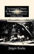 Cover-Bild zu Kocka, Jurgen: Industrial Culture and Bourgeois Society in Modern Germany