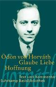 Cover-Bild zu Horváth, Ödön von: Glaube Liebe Hoffnung