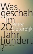 Cover-Bild zu Sloterdijk, Peter: Was geschah im 20. Jahrhundert?
