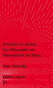 Cover-Bild zu Sloterdijk, Peter: Scheintod im Denken