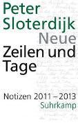 Cover-Bild zu Sloterdijk, Peter: Neue Zeilen und Tage