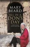 Cover-Bild zu Beard, Mary: All in a Don's Day
