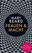 Cover-Bild zu Beard, Mary: Frauen und Macht