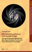 Cover-Bild zu Mugier, Simon: Wirtschaftswachstum und soziale Frage