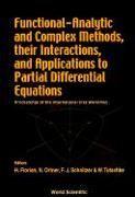 Cover-Bild zu Florian, Helmut (Hrsg.): Functional-Analytic and Complex Methods, Their Interactions, and Applications to Partial Differential Equations - Proceedings of the International Gra