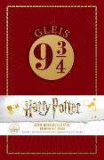 Cover-Bild zu Wizarding World: Harry Potter: Gleis 9 ¾ Premium-Notizbuch