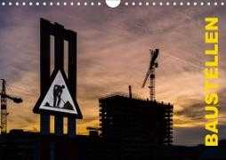 Cover-Bild zu Caccia, Enrico: Baustellen (Wandkalender 2021 DIN A4 quer)