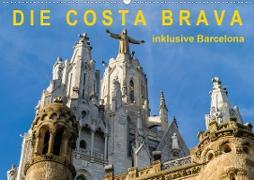 Cover-Bild zu Caccia, Enrico: Costa Brava - inklusive Barcelona (Wandkalender 2021 DIN A2 quer)