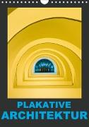 Cover-Bild zu Caccia, Enrico: Plakative Architektur (Wandkalender 2021 DIN A4 hoch)