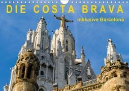Cover-Bild zu Caccia, Enrico: Costa Brava - inklusive Barcelona (Wandkalender 2021 DIN A4 quer)