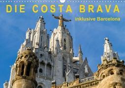 Cover-Bild zu Caccia, Enrico: Costa Brava - inklusive Barcelona (Wandkalender 2021 DIN A3 quer)