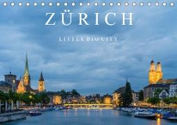 Cover-Bild zu Caccia, Enrico: ZÜRICH - Little Big City (Tischkalender 2021 DIN A5 quer)