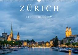 Cover-Bild zu Caccia, Enrico: ZÜRICH - Little Big City (Wandkalender 2021 DIN A3 quer)