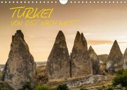 Cover-Bild zu Caccia, Enrico: Türkei - von Ost nach West (Wandkalender 2021 DIN A4 quer)