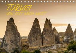Cover-Bild zu Caccia, Enrico: Türkei - von Ost nach West (Tischkalender 2021 DIN A5 quer)
