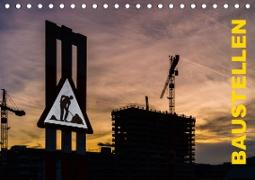 Cover-Bild zu Caccia, Enrico: Baustellen (Tischkalender 2021 DIN A5 quer)