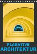 Cover-Bild zu Caccia, Enrico: Plakative Architektur (Tischkalender 2021 DIN A5 hoch)