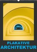 Cover-Bild zu Caccia, Enrico: Plakative Architektur (Wandkalender 2021 DIN A3 hoch)