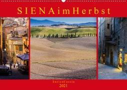 Cover-Bild zu Caccia, Enrico: Siena im Herbst (Wandkalender 2021 DIN A2 quer)