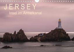 Cover-Bild zu Caccia, Enrico: Jersey - Insel im Ärmelkanal (Wandkalender 2021 DIN A4 quer)