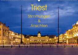 Cover-Bild zu Caccia, Enrico: Triest - Stimmungen und Ansichten (Wandkalender 2021 DIN A2 quer)