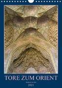 Cover-Bild zu Caccia, Enrico: Tore zum Orient (Wandkalender 2021 DIN A4 hoch)