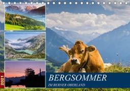 Cover-Bild zu Caccia, Enrico: Bergsommer im Berner Oberland (Tischkalender 2021 DIN A5 quer)