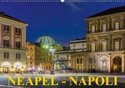 Cover-Bild zu Caccia, Enrico: Neapel - Napoli (Wandkalender 2021 DIN A2 quer)