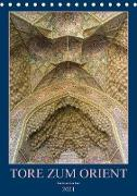 Cover-Bild zu Caccia, Enrico: Tore zum Orient (Tischkalender 2021 DIN A5 hoch)