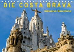 Cover-Bild zu Caccia, Enrico: Costa Brava - inklusive Barcelona (Tischkalender 2021 DIN A5 quer)