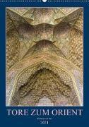 Cover-Bild zu Caccia, Enrico: Tore zum Orient (Wandkalender 2021 DIN A2 hoch)