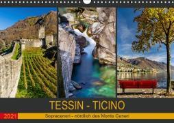 Cover-Bild zu Caccia, Enrico: Tessin - Ticino (Wandkalender 2021 DIN A3 quer)