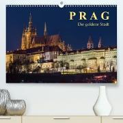 Cover-Bild zu Caccia, Enrico: Prag - die goldene Stadt (Premium, hochwertiger DIN A2 Wandkalender 2021, Kunstdruck in Hochglanz)