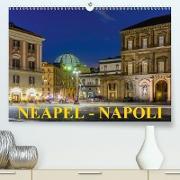 Cover-Bild zu Caccia, Enrico: Neapel - Napoli (Premium, hochwertiger DIN A2 Wandkalender 2021, Kunstdruck in Hochglanz)