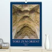 Cover-Bild zu Caccia, Enrico: Tore zum Orient (Premium, hochwertiger DIN A2 Wandkalender 2021, Kunstdruck in Hochglanz)