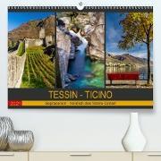 Cover-Bild zu Caccia, Enrico: Tessin - Ticino (Premium, hochwertiger DIN A2 Wandkalender 2021, Kunstdruck in Hochglanz)