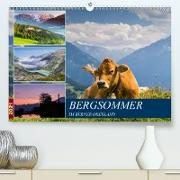 Cover-Bild zu Caccia, Enrico: Bergsommer im Berner Oberland (Premium, hochwertiger DIN A2 Wandkalender 2021, Kunstdruck in Hochglanz)